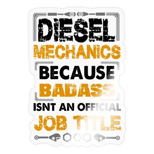 Diesel Mechanic - Sticker