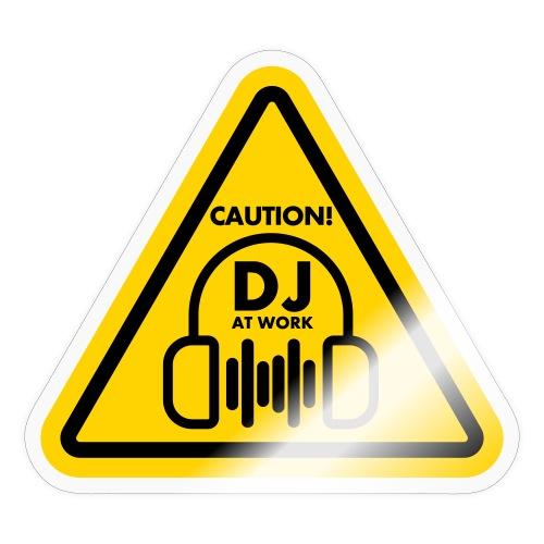DJ At Work - Sticker