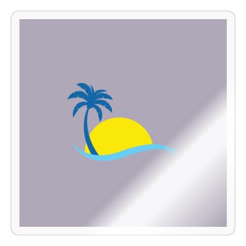 New model sun off plant - Sticker