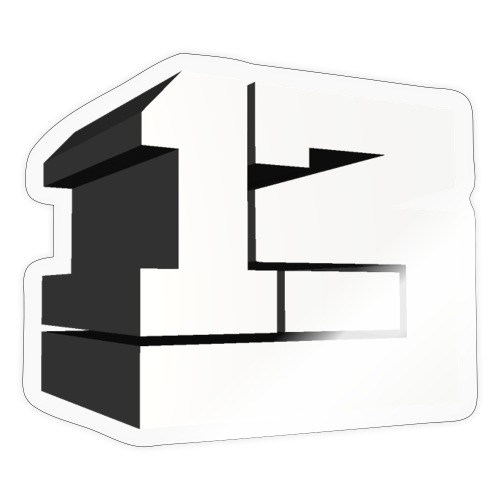 One Point Three Dimensional - Sticker