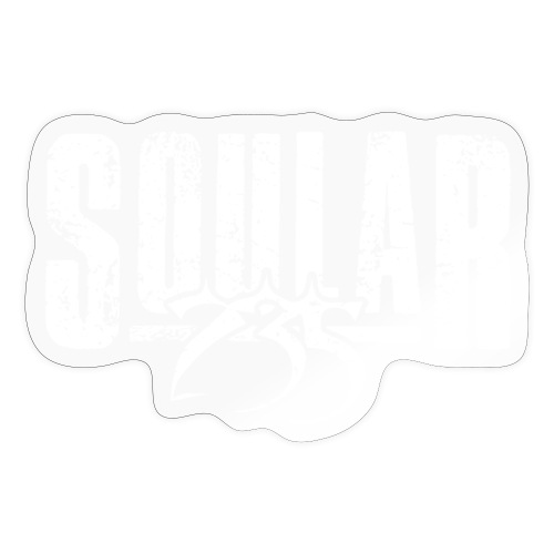 Soular235 White Logo - Sticker