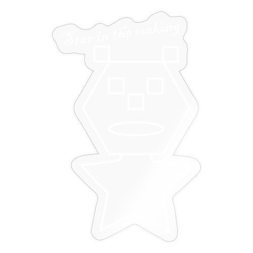 star in the making - Sticker