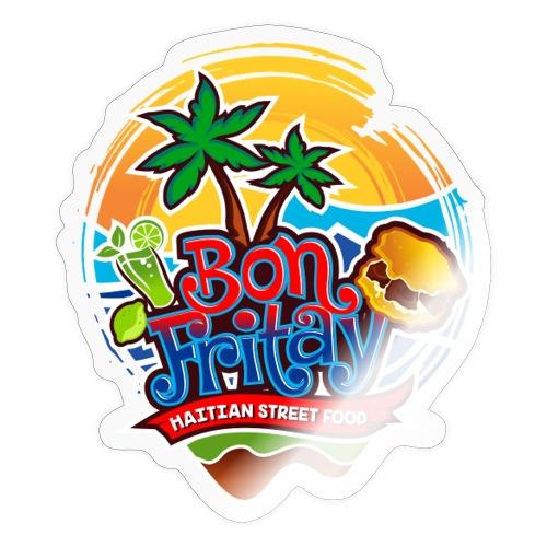 Bon Fritay Logo - Sticker