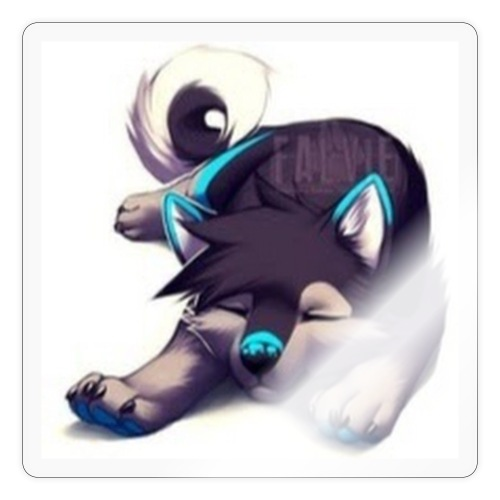cute wolf - Sticker