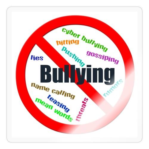 stop bully - Sticker