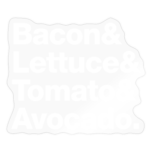 BLTA (white text) - Sticker