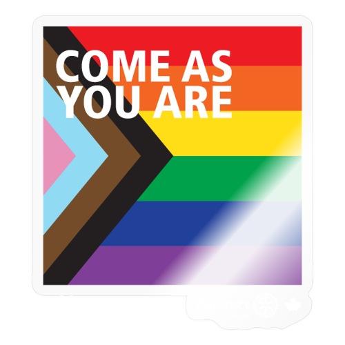 Come As You Are | PRIDE 2021 - Sticker