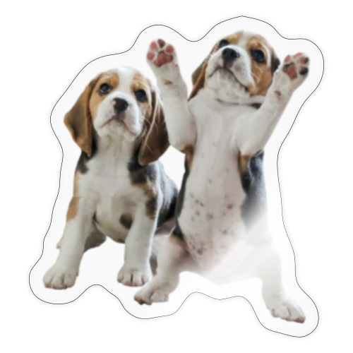 puppy - Sticker