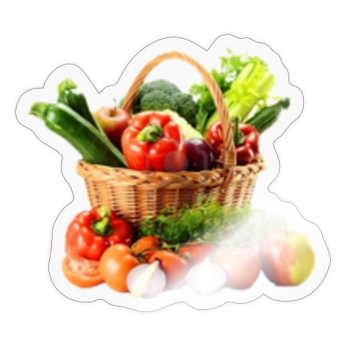Vegetable transparent - Sticker