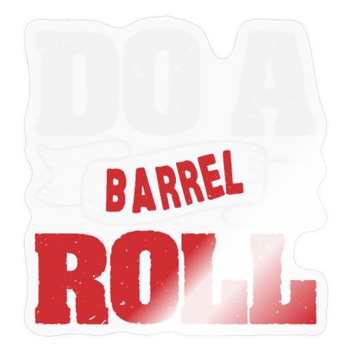Do a barrel roll - Sticker