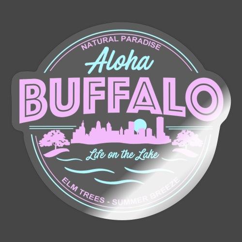 Aloha Buffalo - Sticker