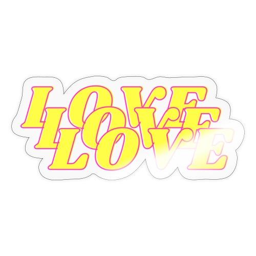 love love love - Sticker