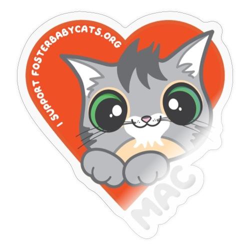 Mac Heart - Sticker