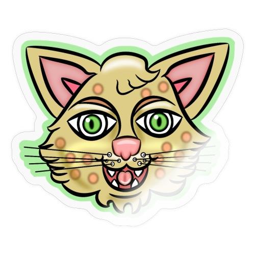 Happy Cat Gold - Sticker