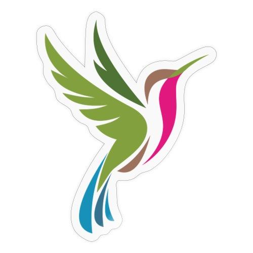 Hummingbird Spot Logo Products - Sticker