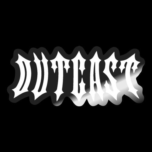 outcast logo - Sticker