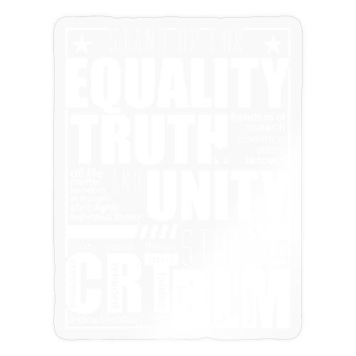 Equality Truth Unity - Sticker
