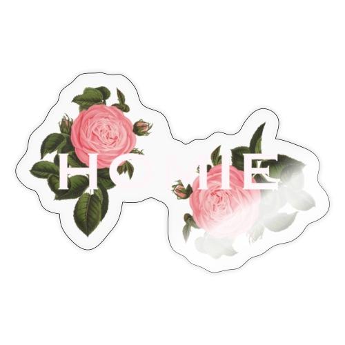HOMIE WHT PNK ROSE - Sticker