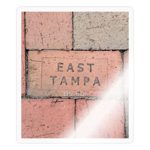 East Tampa Brick - Sticker