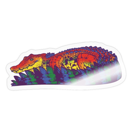 Estuarine Crocodile- Pride (LGBT+) - Sticker
