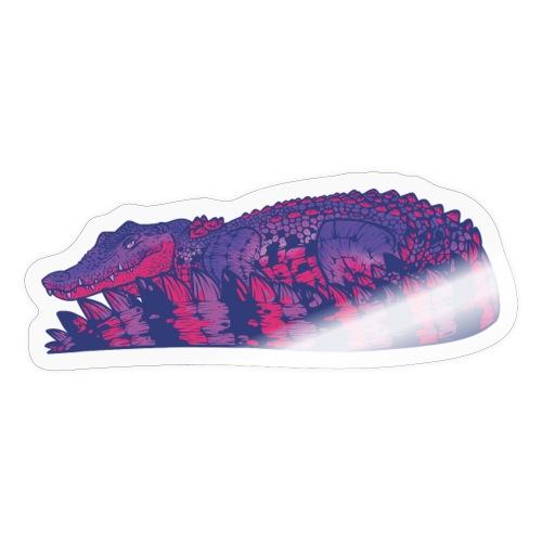 Estuarine Crocodile- Pride (Bisexual) - Sticker