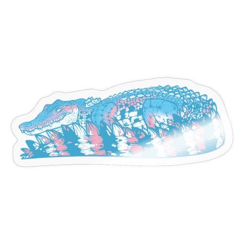 Estuarine Crocodile- Pride (Transgender) - Sticker