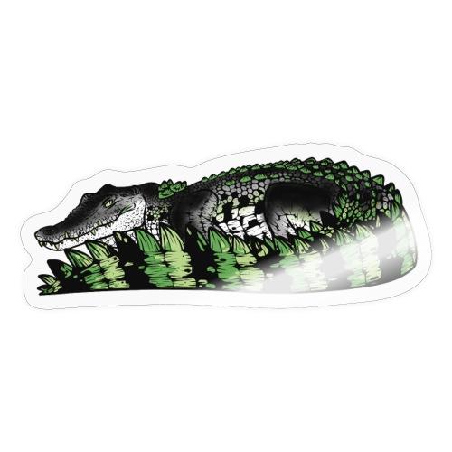 Estuarine Crocodile- Pride (Aromantic) - Sticker