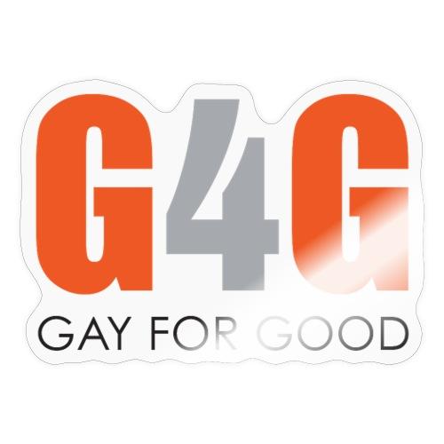 Gay For Good Logo Blk - Sticker