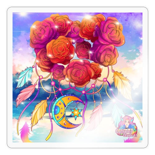 Roses of Love - Sticker
