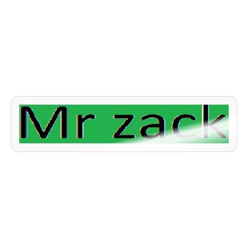 Mr zack - Sticker