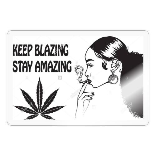 Keepblazin - Sticker