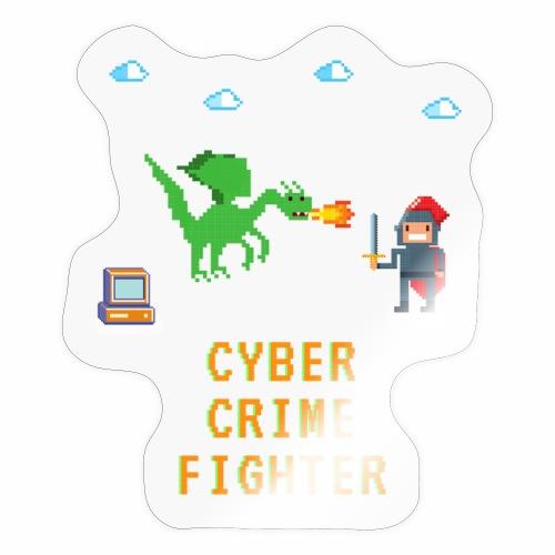 Cyber Crime fighter - Sticker