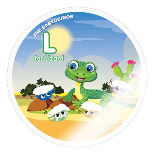 Babyccinos Alphabet Letter L - Sticker