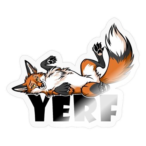 Lazy YERF FOX / FOXES - Sticker