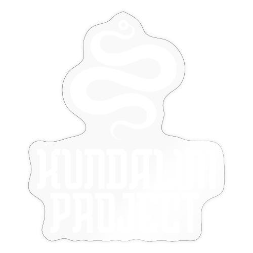 Kundalini white logo - Sticker