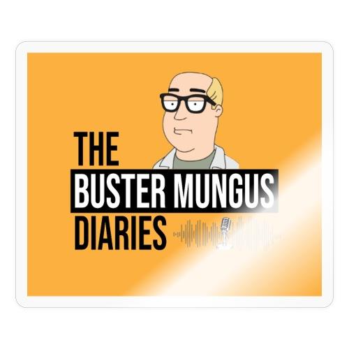 Buster Mungus Orange Logo Swag - Sticker
