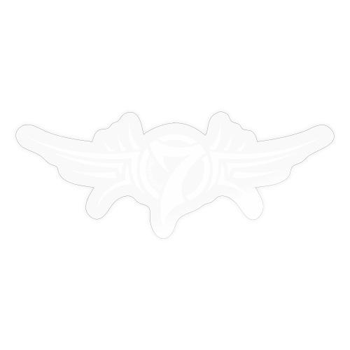 MayheM-7 Tattoo Logo White - Sticker