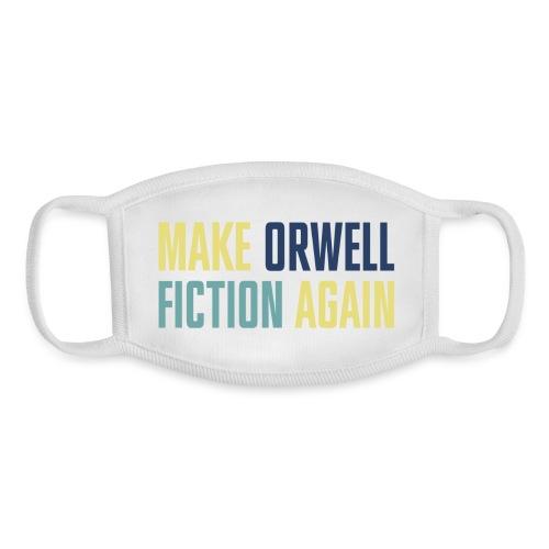 Make Orwell Fiction (horizontal) - Youth Face Mask