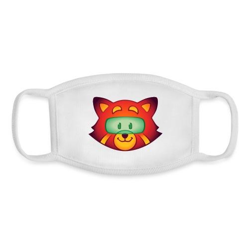 Foxr Head (no logo) - Youth Face Mask