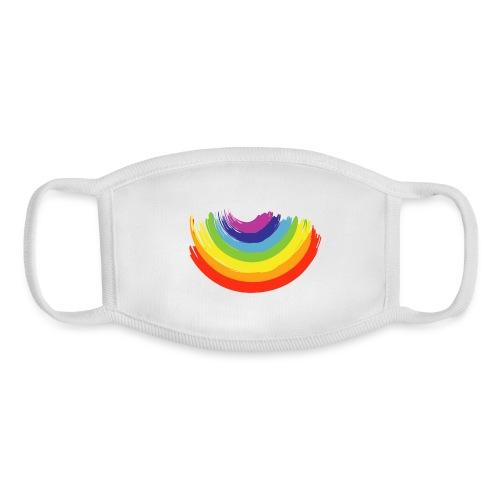 Rainbow Smile - Youth Face Mask