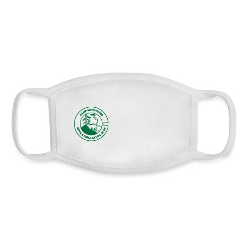 Camp Mendocino Green - Youth Face Mask