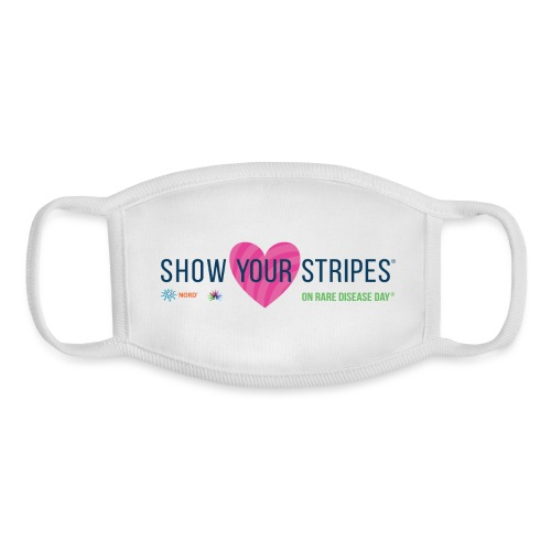 Show Your Stripes for Rare Disease Day! - Youth Face Mask