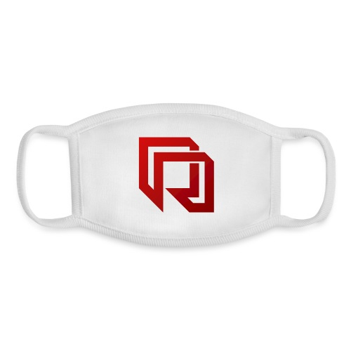 Red Iron Icon (Red) - Youth Face Mask