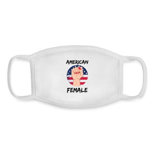 American Fimale apparel - Youth Face Mask