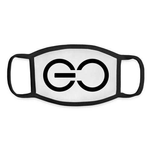 GO logo big - Youth Face Mask