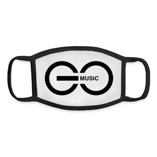 GOMusic logo - Youth Face Mask