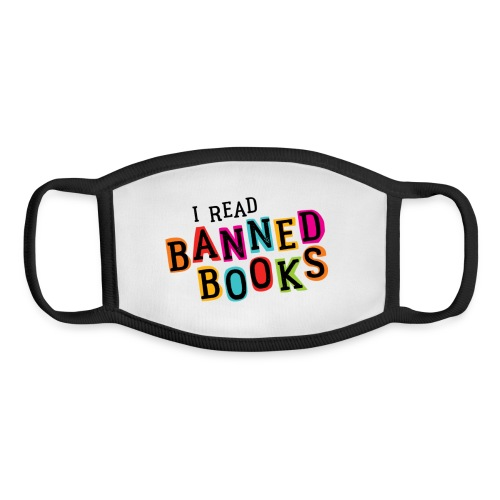 I Read Banned Books (rainbow) - Youth Face Mask