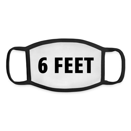 6 FEET - Social Distancing Mask & Shirt - Youth Face Mask