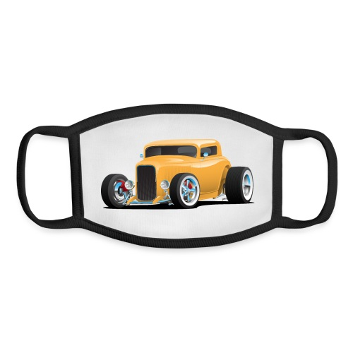 Classic American 32 Hotrod Car Illustration - Youth Face Mask