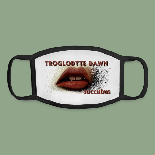 Troglodyte Dawn Succubus Mask - Youth Face Mask